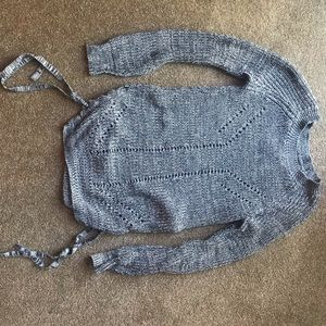 Grey tunic sweater shirt